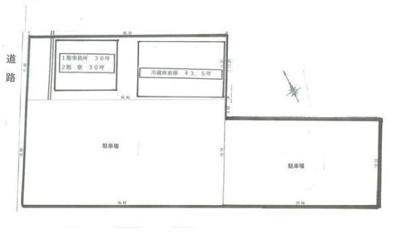 【区画図】沼津市原 冷蔵倉・倉庫・事務所