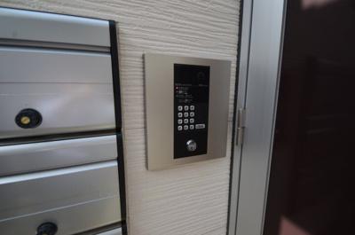 カラーTVモニター付きオートロック