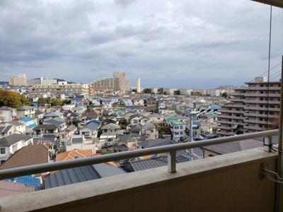 高台にあり風通し良好☆神戸市垂水区 第三岩井ハイツ☆
