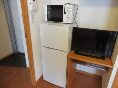 TV・冷蔵庫・電子レンジ付
