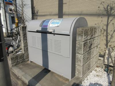 専用ゴミ回収BOX