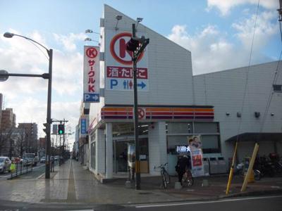 サークルK松山平和通五丁目店 241m