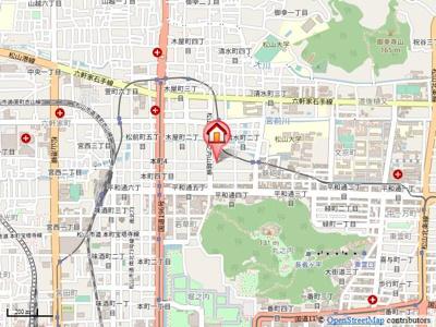 【地図】クレバーコート・