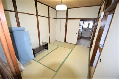 【寝室】木戸山町連棟