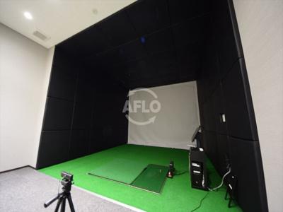 ザ・パークハウス中之島タワー シミュレーションゴルフ室ございます