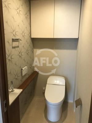 ザ・パークハウス中之島タワー お手洗いは洗面付きで便利です