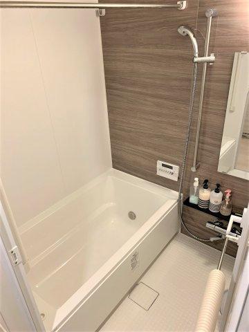 雨の日のお洗濯にも大活躍な浴室乾燥機付き。撮影:2020.3.6
