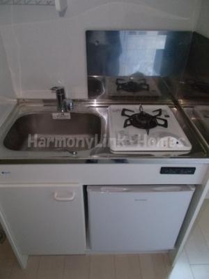 コーポ北池袋のお料理しやすいキッチンです