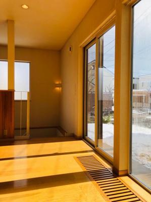 【展望】上野幌3-6戸建 東日本ハウス施工中古戸建