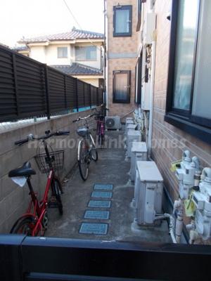 ライフピアポロネーズの駐輪スペース☆