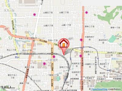 【地図】オリエントハウス・