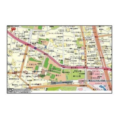 【地図】スカイコート後楽園第5