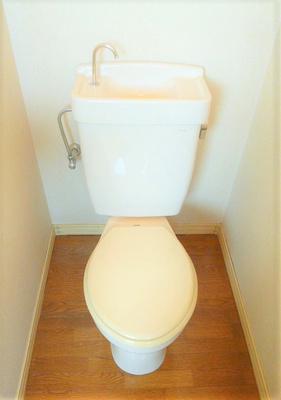 ゆったりとした空間のトイレです