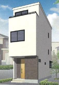 新築戸建 京急大師線「東門前」駅徒歩13分 2階リビング 全居室収納 子育てしやすい環境 3LDK