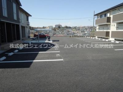 【駐車場】ソシア フジケンB棟