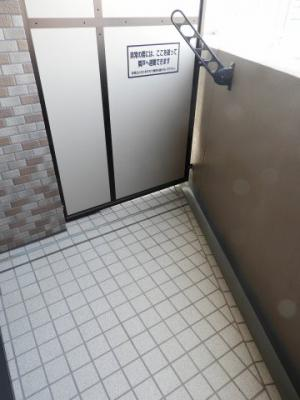 【バルコニー】リーガル岡崎橋
