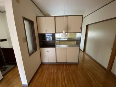 キッチン棚です