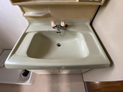 朝の支度にも助かる、独立の洗髪洗面化粧台