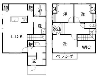松山市 北斎院 未入居住宅 28.80坪