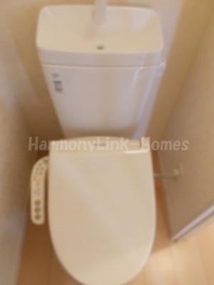 フェリスシトロンの落ち着いた色調のトイレです☆