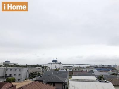 前面に大きな建物もなく、眺望も良好です♪