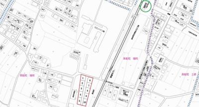 【地図】瀬戸内市長船町福岡 Ⅱ期