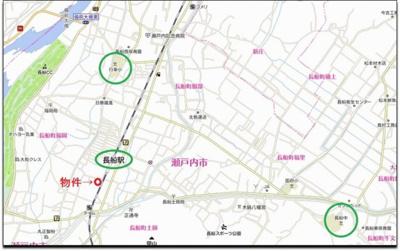 【周辺】瀬戸内市長船町福岡 Ⅱ期