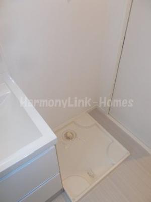 Pleiades瑞江の室内洗濯機置き場