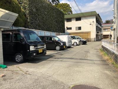 【外観】花屋敷駐車場