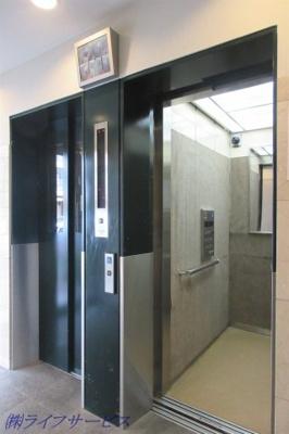 モニター付エレベーター2基有
