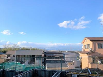 【展望】京田辺市薪山垣外 新築戸建 ①号地