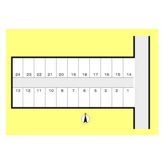 【区画図】山崎東綾瀬駐車場