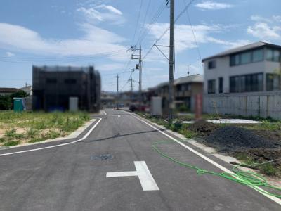 【前面道路含む現地写真】大津市坂本7丁目11付近 新築分譲地