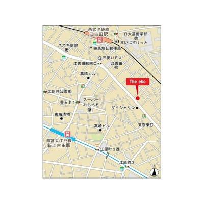 【地図】ザ エコ