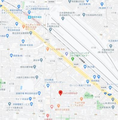 【地図】平成3年築!市内満室稼働中の一棟収益!