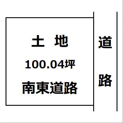 【土地図】大仙市大曲船場町 大曲の花火会場近くの区画の整った整形地