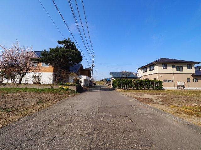 大仙市大曲船場町 大曲の花火会場近くの区画の整った整形地
