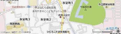 【地図】ウェルシー氷室㈱Roots