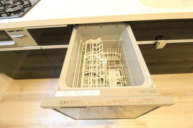 あると便利な食洗器付き。