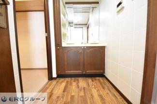 【独立洗面台】ローズヴィラ神戸六甲篠原邸2階3階