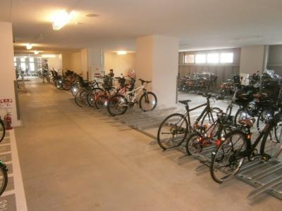 自転車専用置場
