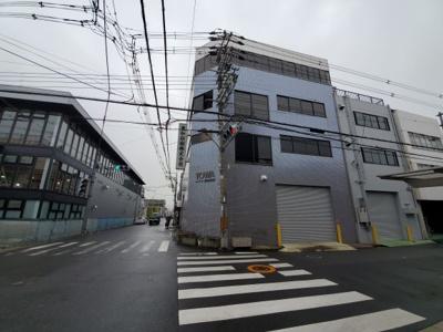 【外観】東大阪市高井田中 345坪 倉庫事務所