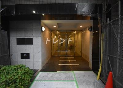 【エントランス】グランカーサ銀座イースト