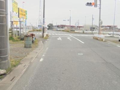【前面道路含む現地写真】熊谷市玉井 750万 土地