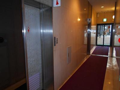 1F共用部に来客用男女別トイレ