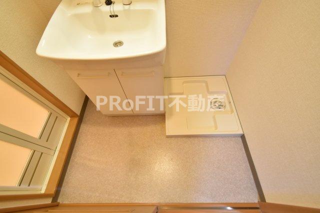 【洗面所】HomeBuilder KISHINOSATO (旧ヴァンベール02)