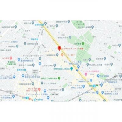 【地図】ロイヤルアメニティー巣鴨