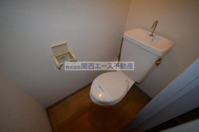 【トイレ】レオパレスルナⅡ