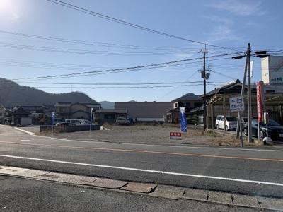 【前面道路含む現地写真】野村町土地