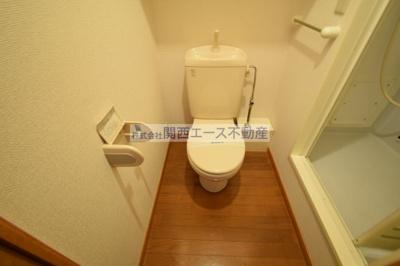 【トイレ】レオパレスラコルト
